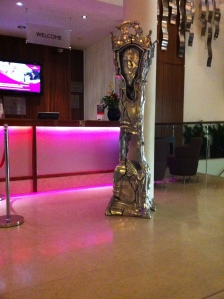 Crown Plaza Lobby